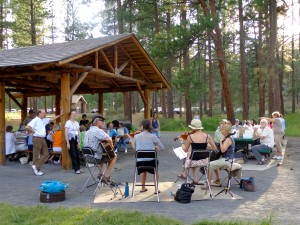 2013 OMTA State Conference in Bend -- Picnic at Shevlin Park